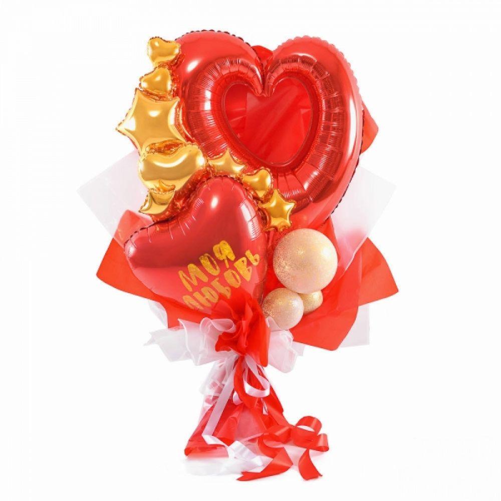Букет из воздушных шариков Моя любовь