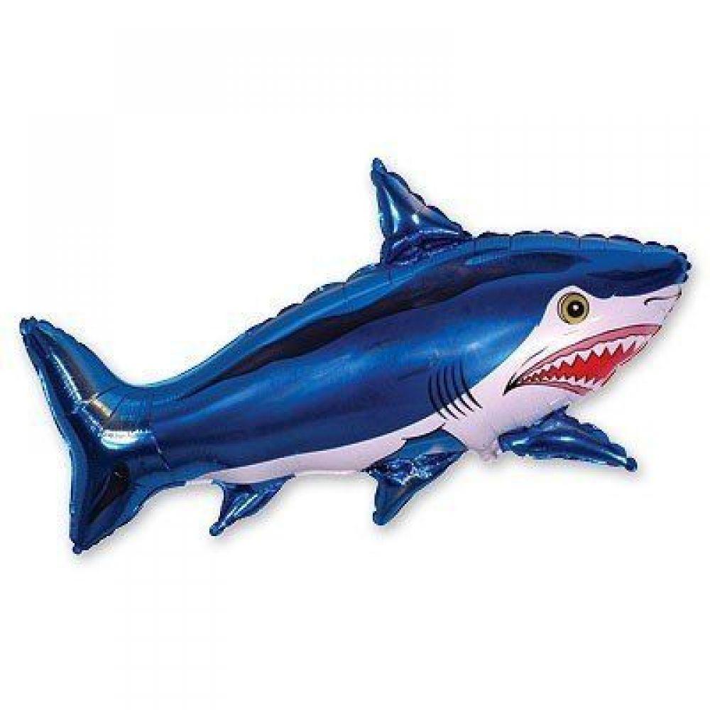 Фольгированный шар фигура Акула
