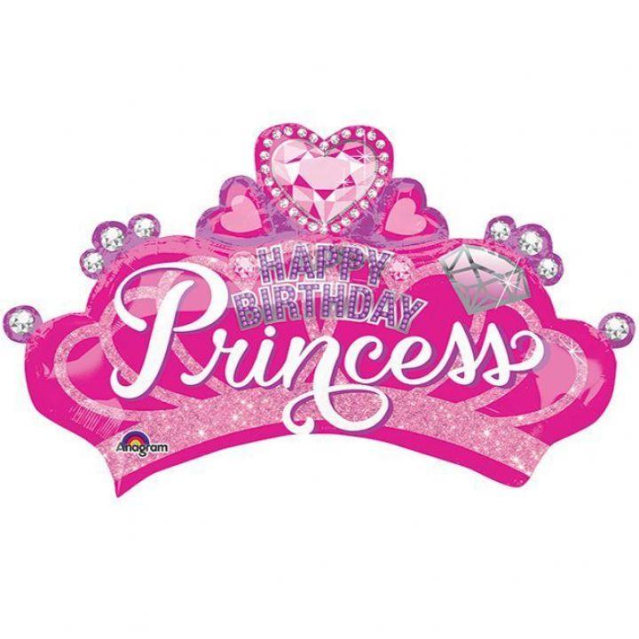 Корона с камнями HB Princess