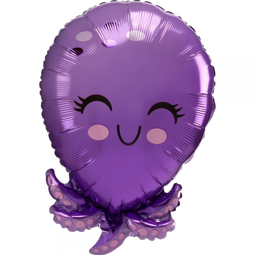 Фольгированный шар фигура Осьминог