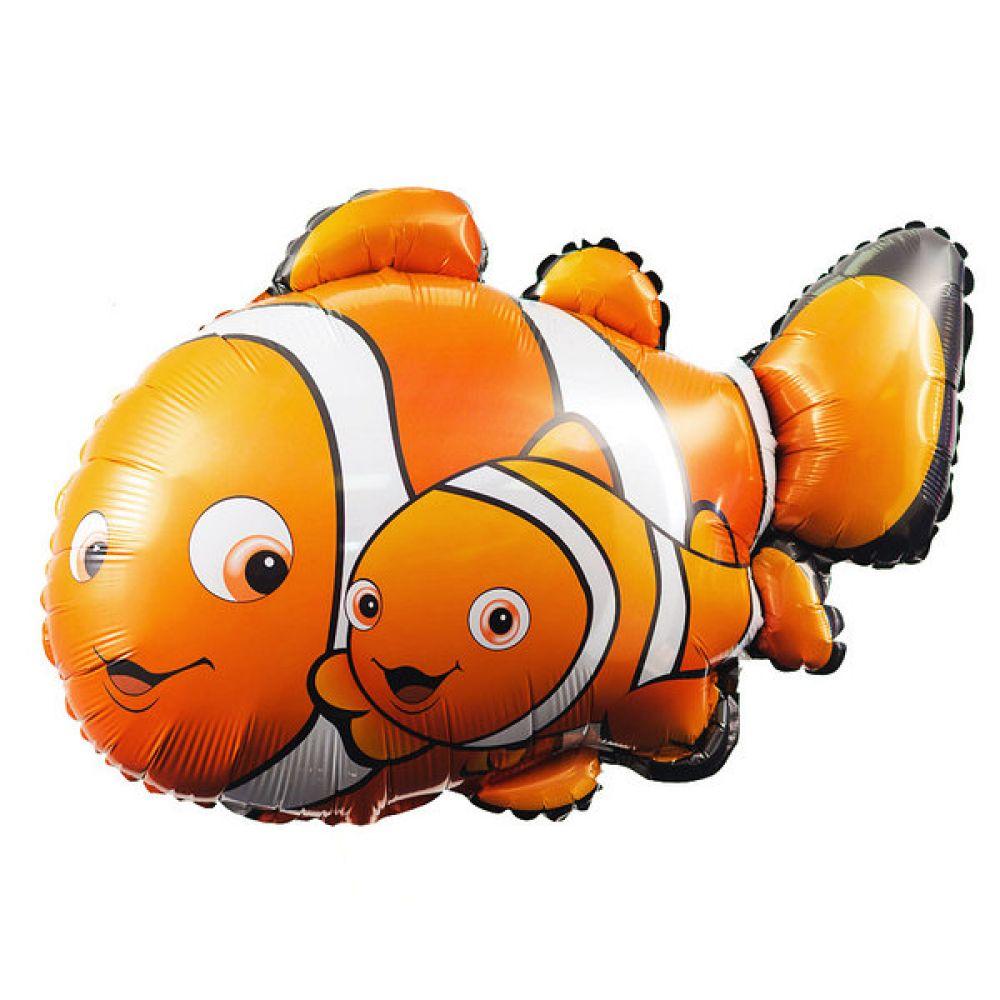 Фольгированный шар фигура Рыбка Немо