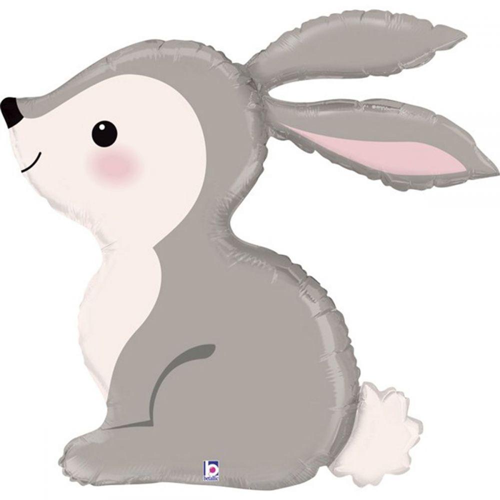 Фольгированный шар фигура Кролик лесной