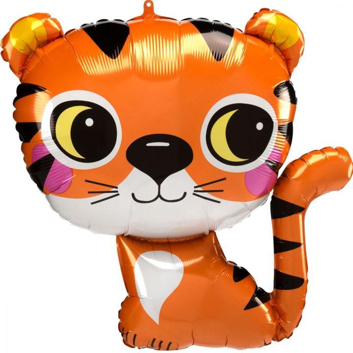Фольгированный шар фигура Тигр малыш
