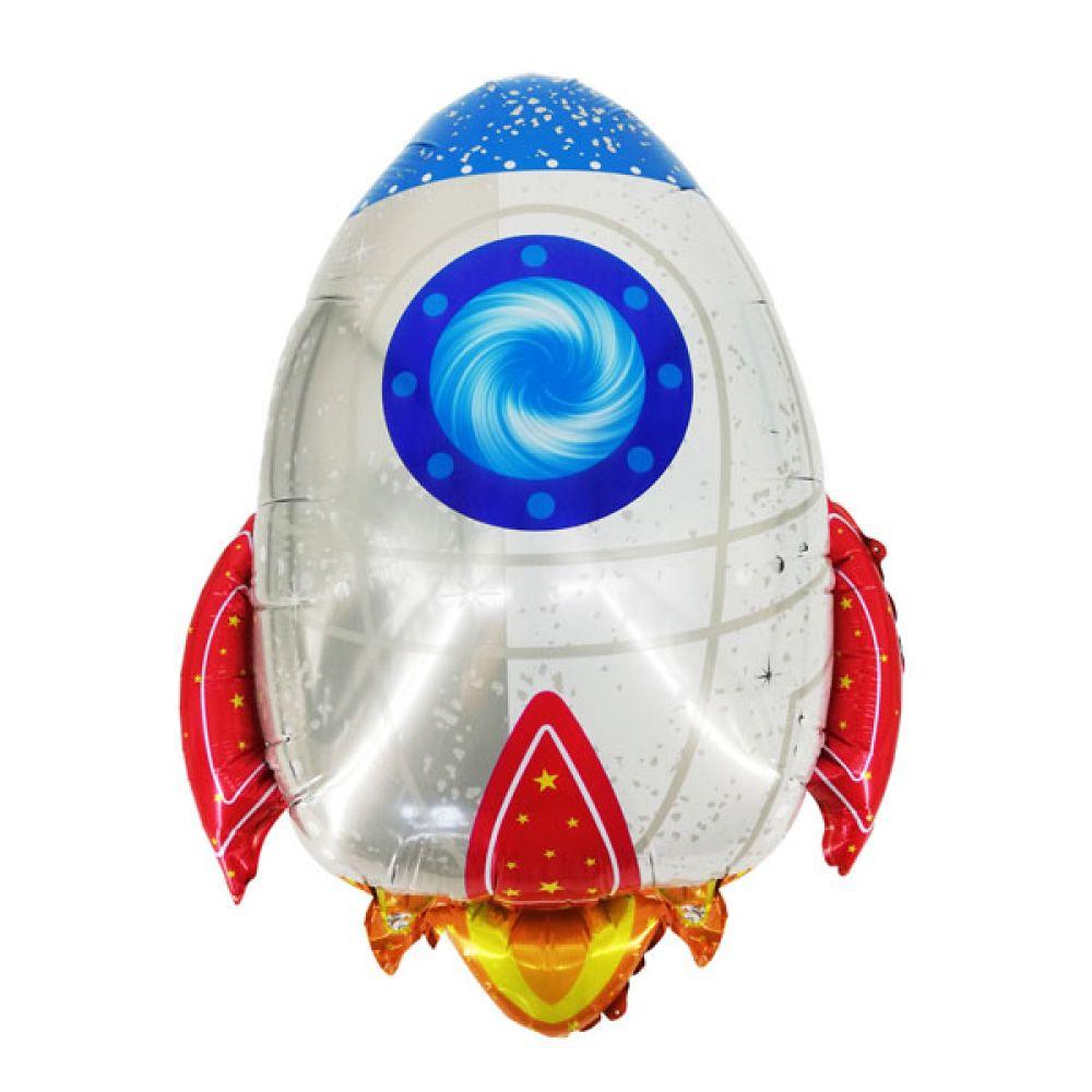Фольгированный шар фигура Ракета