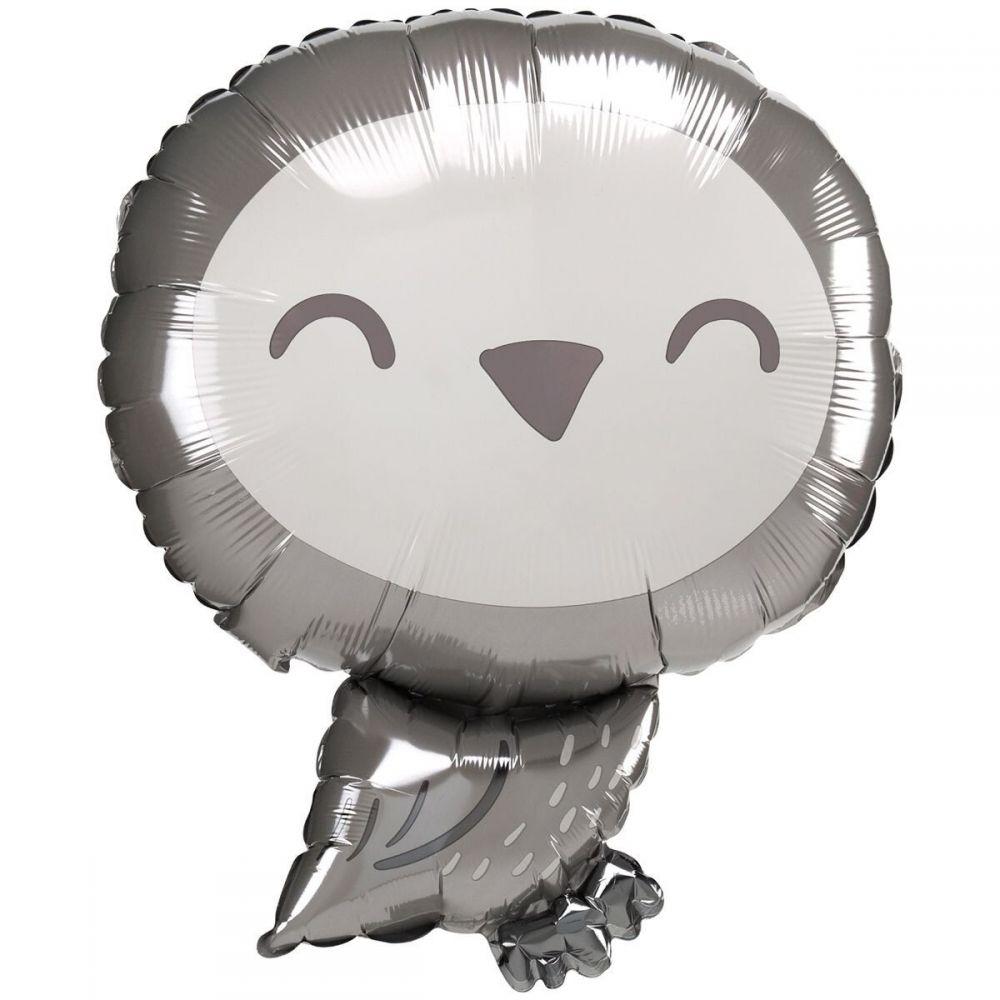 Фольгированный шар фигура Сова