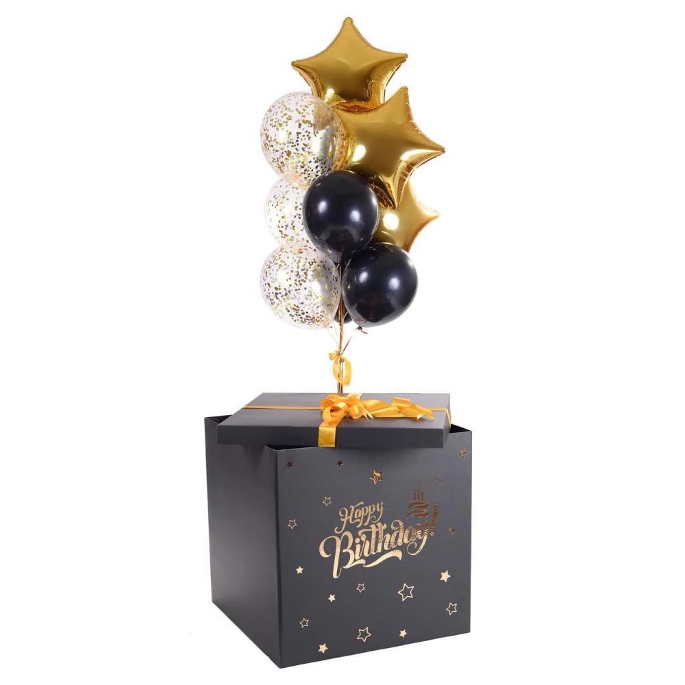 Коробка сюрприз Happy Birthday
