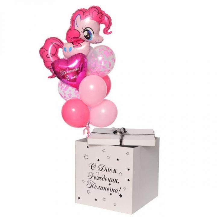 """Коробка сюрприз """"Пинки Пай"""""""