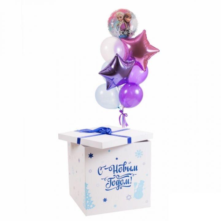 """Коробка сюрприз """"С новым годом"""""""
