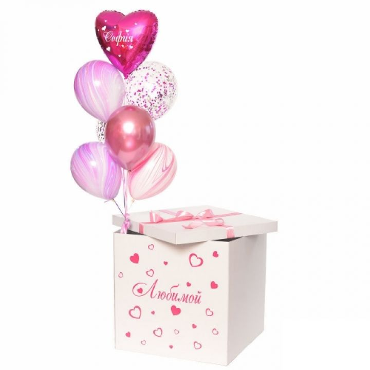 """Коробка сюрприз """"Любимой"""""""