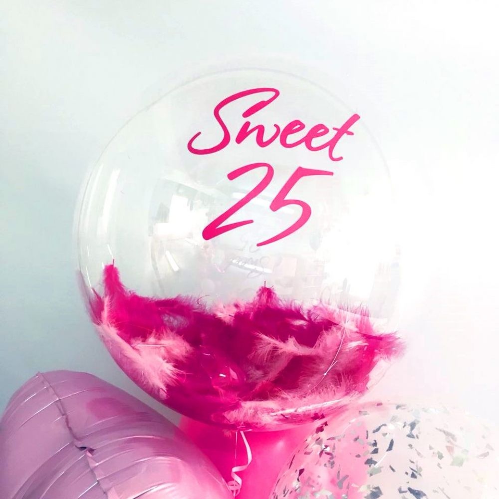 "Прозрачная сфера ""Sweet 25"""