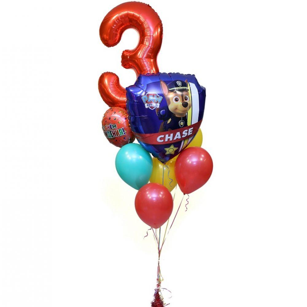 """Воздушные шарики на день рождение """"Чейз"""""""