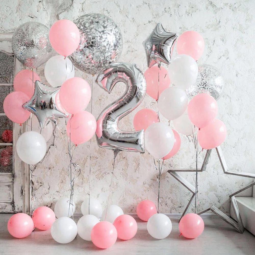 Комплект воздушных шаров Нежность