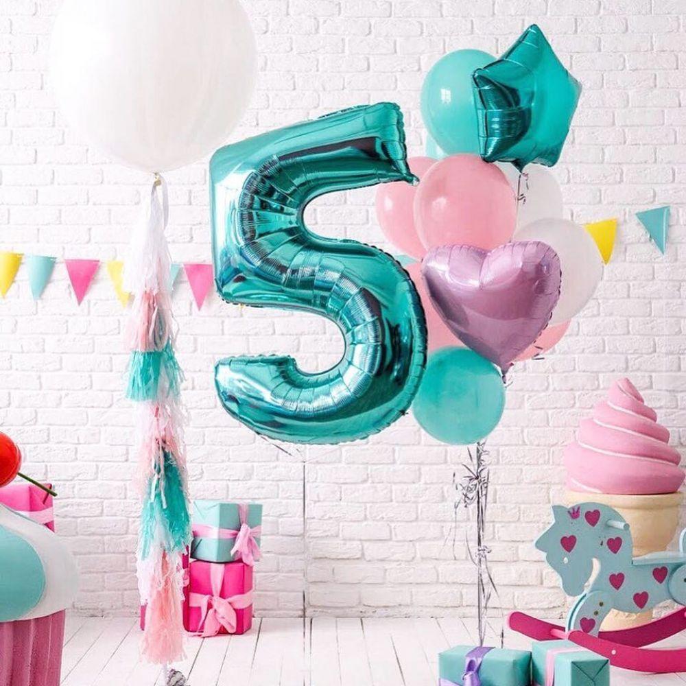 Комплект шариков на 5 годиков