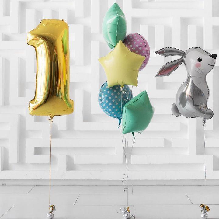 """Комплект воздушных шаров """"Кролик"""""""
