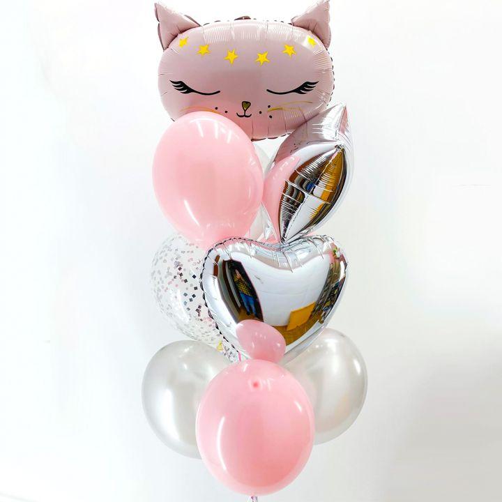 Связка из 11 шаров с Кошкой