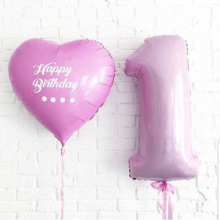 """Комплект воздушных шаров """"Большое сердце"""""""