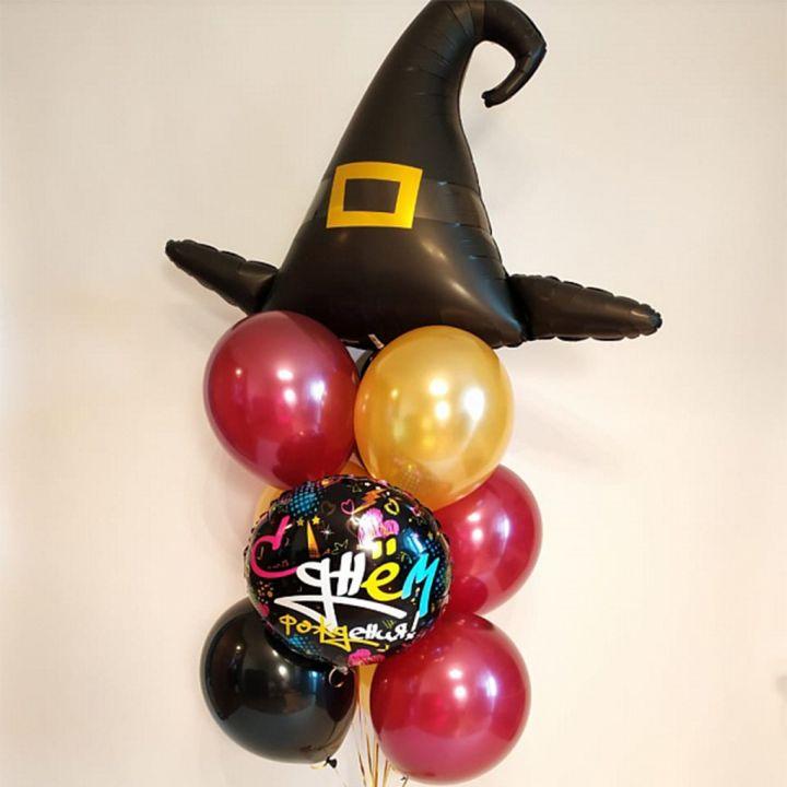 """Фонтан из 10 шаров """"Гарри Поттер"""" - Шляпа Ведьмы"""