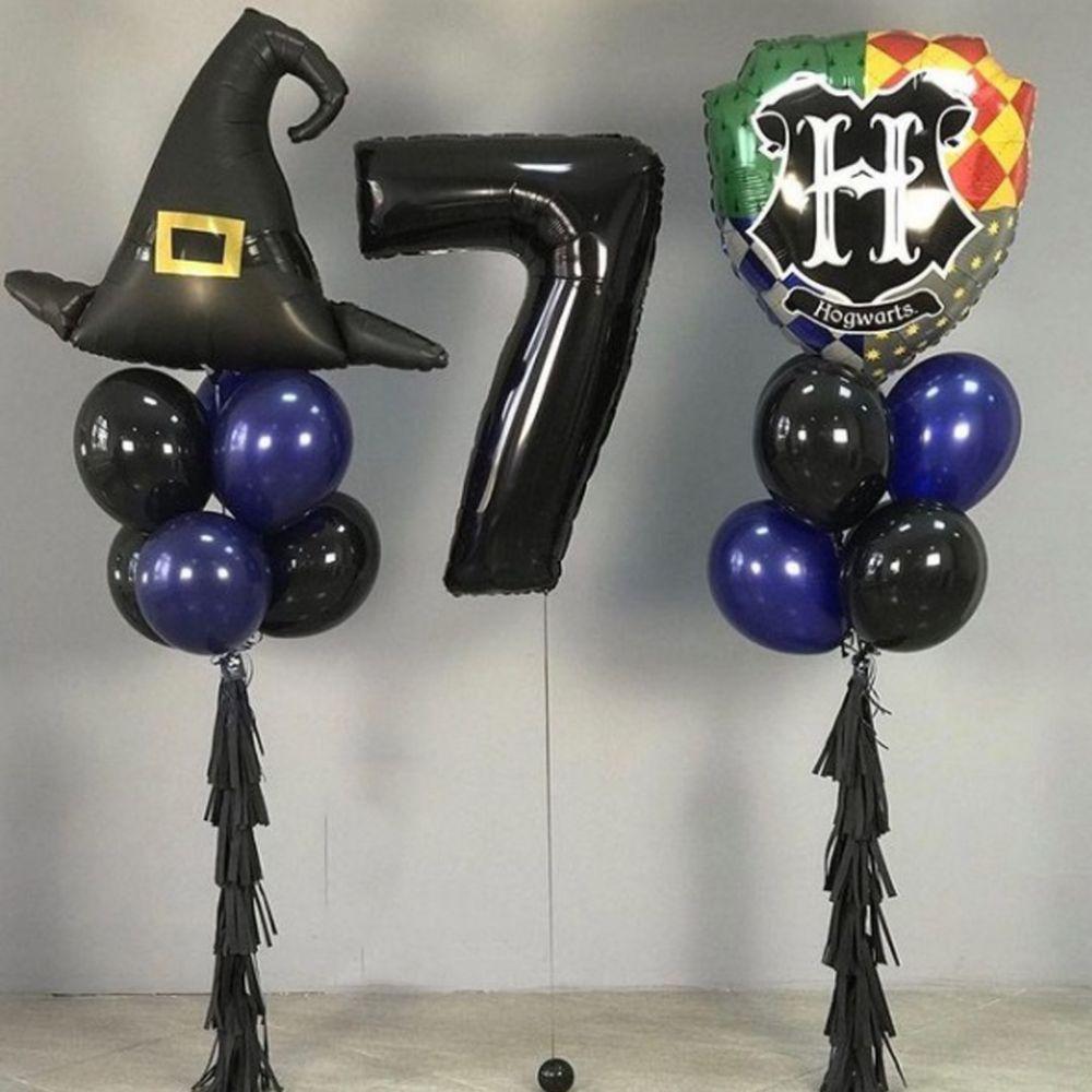 """Комплект шаров с цифрой """"Гарри Поттер"""""""