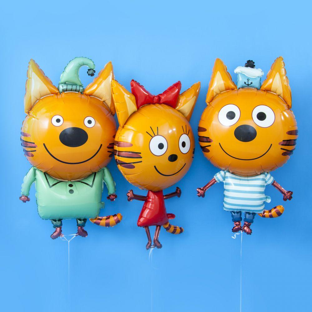 Воздушные шарики Три Кота