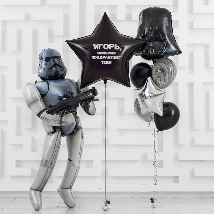 """Комплект воздушных шаров """"Звездные войны"""""""