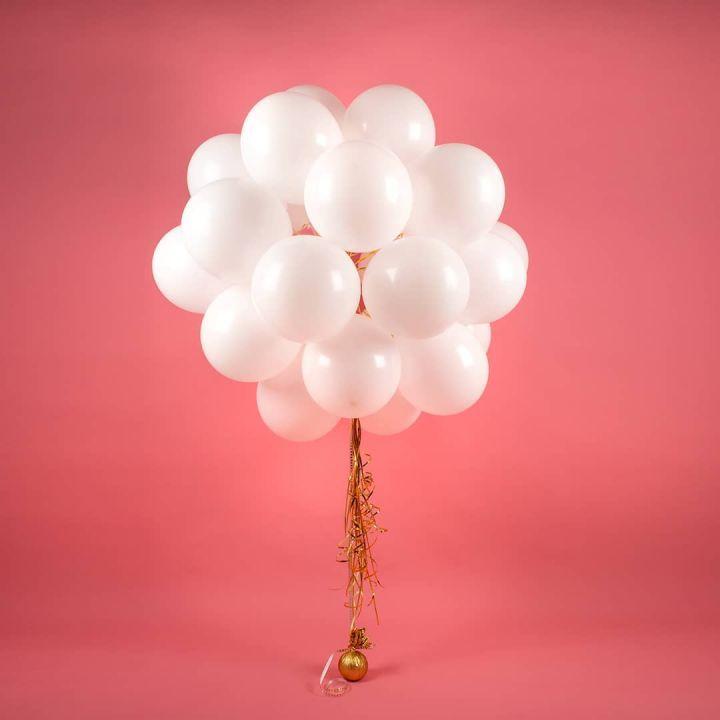 Воздушные шарики на свадьбу