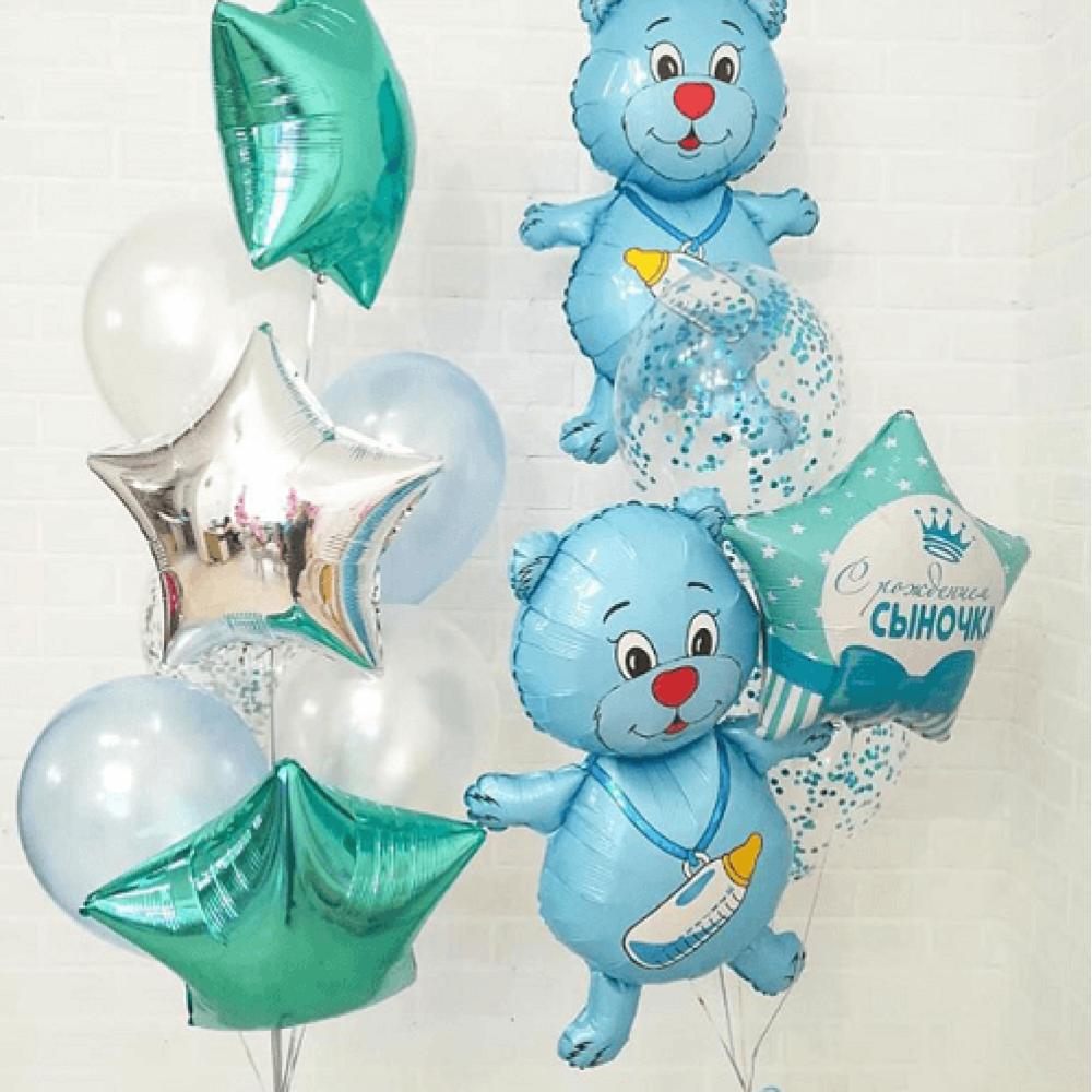 Комплект шаров для мальчика