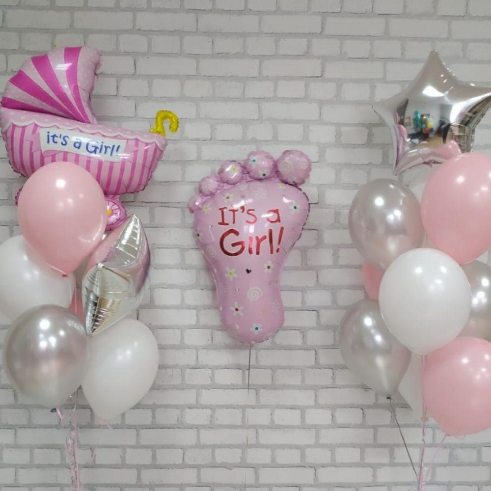 Комплект на выписку для девочки