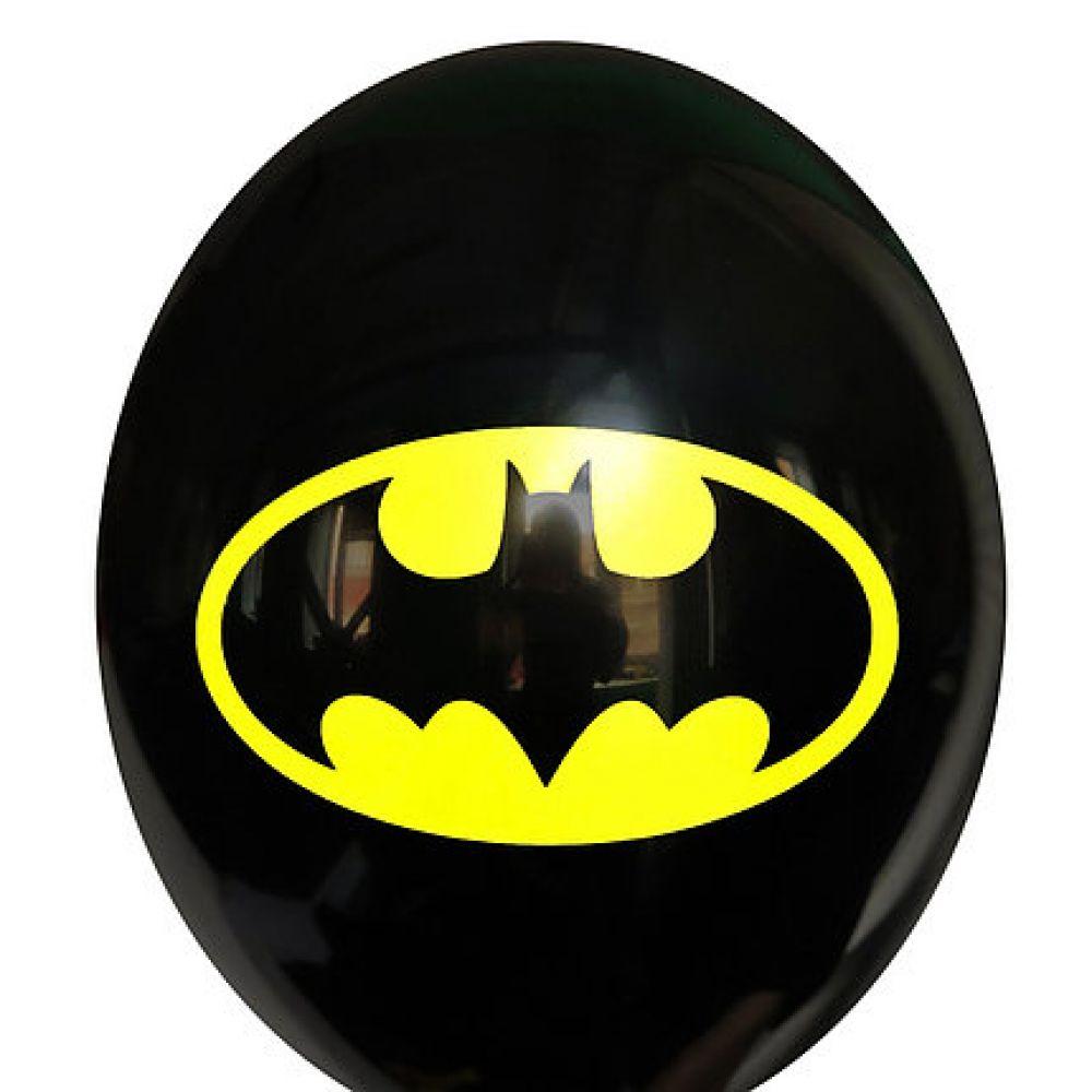 """Шар латексный с рисунком """"Бэтмен"""""""