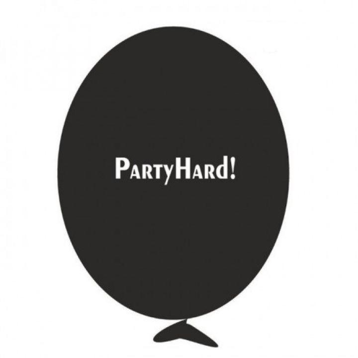 Шарик с надписью Party Hard