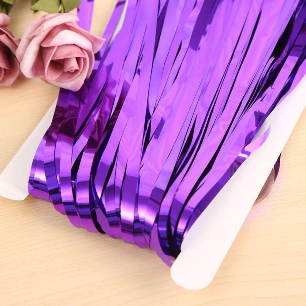 Штора для фотозоны фиолетовая 1х2 м