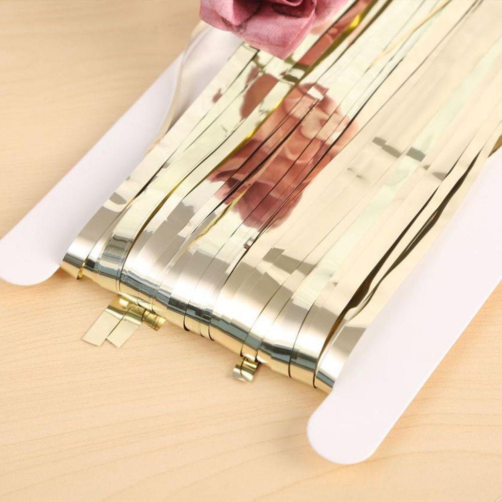 Штора для фотозоны белое золото 1х2 м