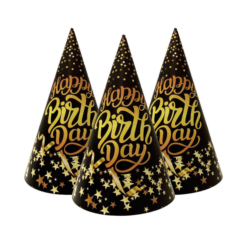 """Праздничные колпачки """"Happy Birthday"""""""
