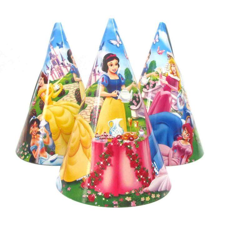 """Праздничные колпачки """"Принцессы"""""""