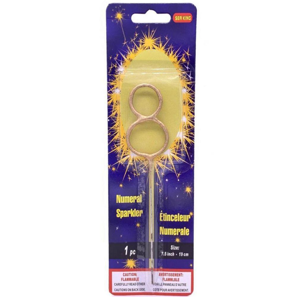 Бенгальская свеча 8 золотая