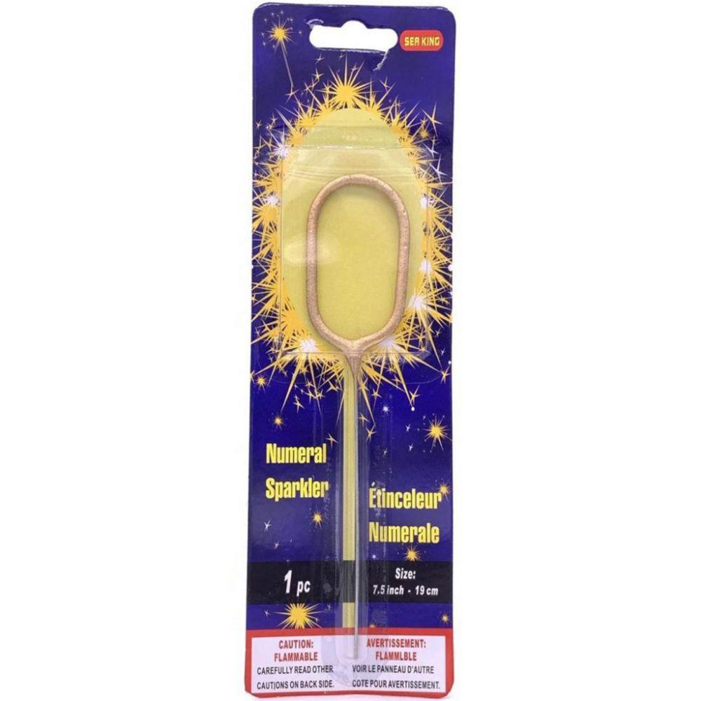 Бенгальская свеча 0 золотая