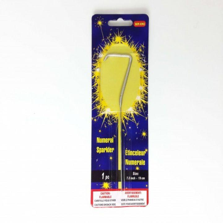 Бенгальская свеча 7 серебро