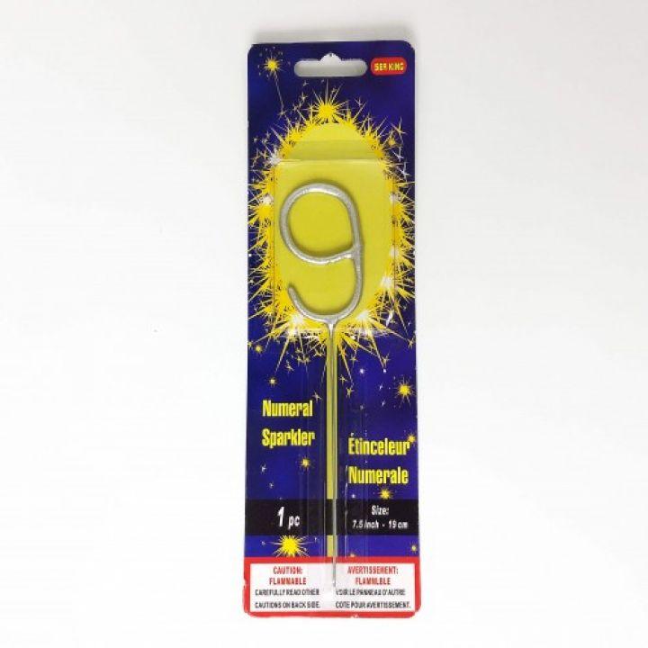 Бенгальская свеча 9 серебро
