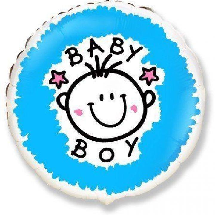 Круг на выписку Baby Boy