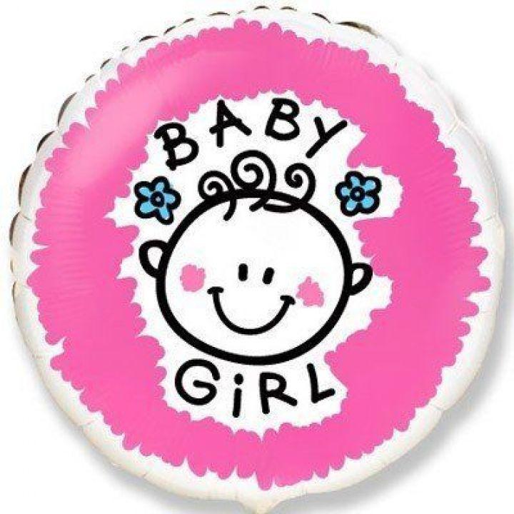 Круг на выписку Baby Girl