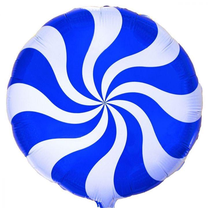 Круг конфетка синяя