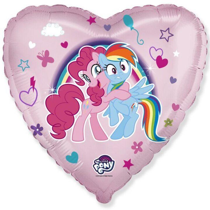 Сердце Радужные пони