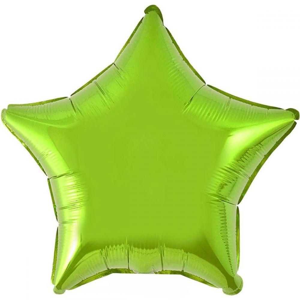 Звезда светло-зелёная